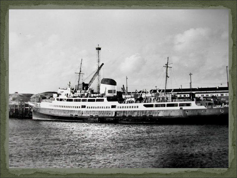 Le 15 août 1951 le « Côte d'Azur » deuxième du nom, Débute son services entre Douvres – Calais.