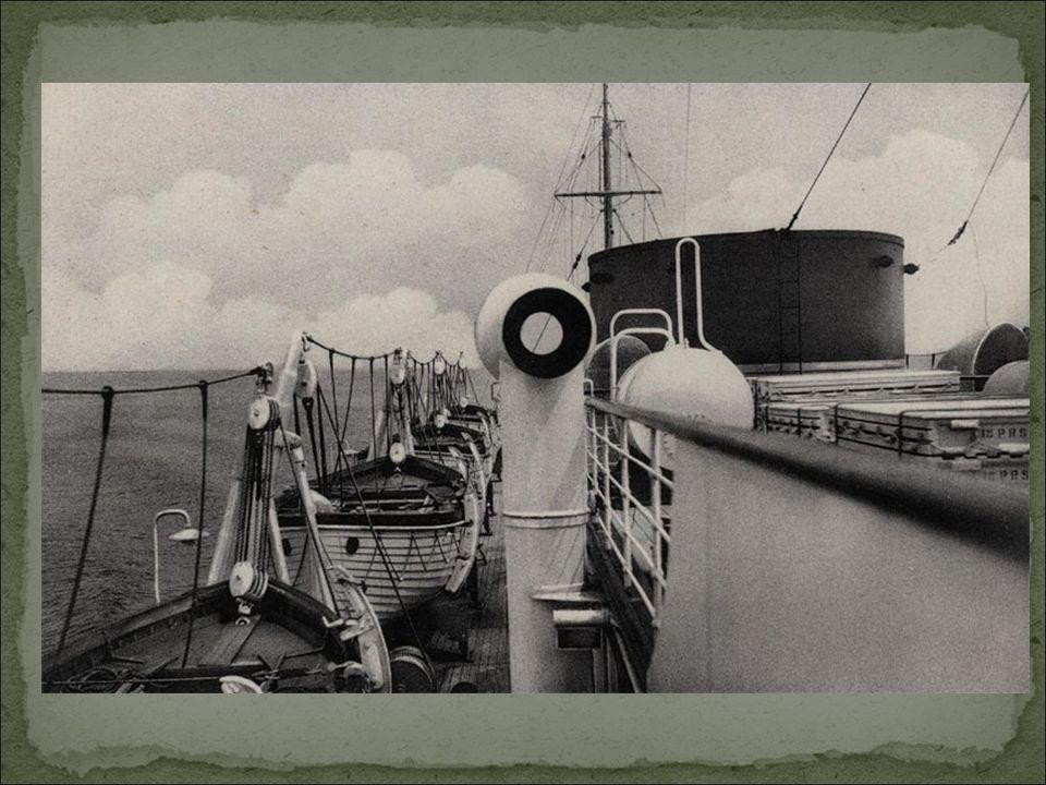 Octobre 1964 Il est le premier navire à être peint aux couleurs Britanniques coque bleue, cheminée rouge avec bande noire en haut et le logo double flèche.
