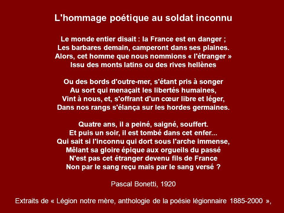 La flamme du soldat inconnu Français - monument de lArc de Triomphe Paris