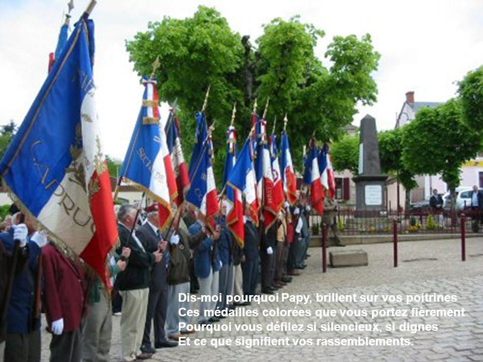 L hommage poétique au soldat inconnu Le monde entier disait : la France est en danger ; Les barbares demain, camperont dans ses plaines.