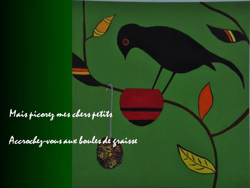 Car le Bon Dieu au colibri Na pas donné de coquillages