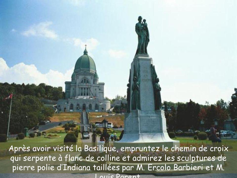 Les œuvres sculpturales de M. Parent et M. Barbieri présentées par Marcel Tremblay le 18 août 2005 La Fontaine a été ajoutée le 26 février 2007 À défi
