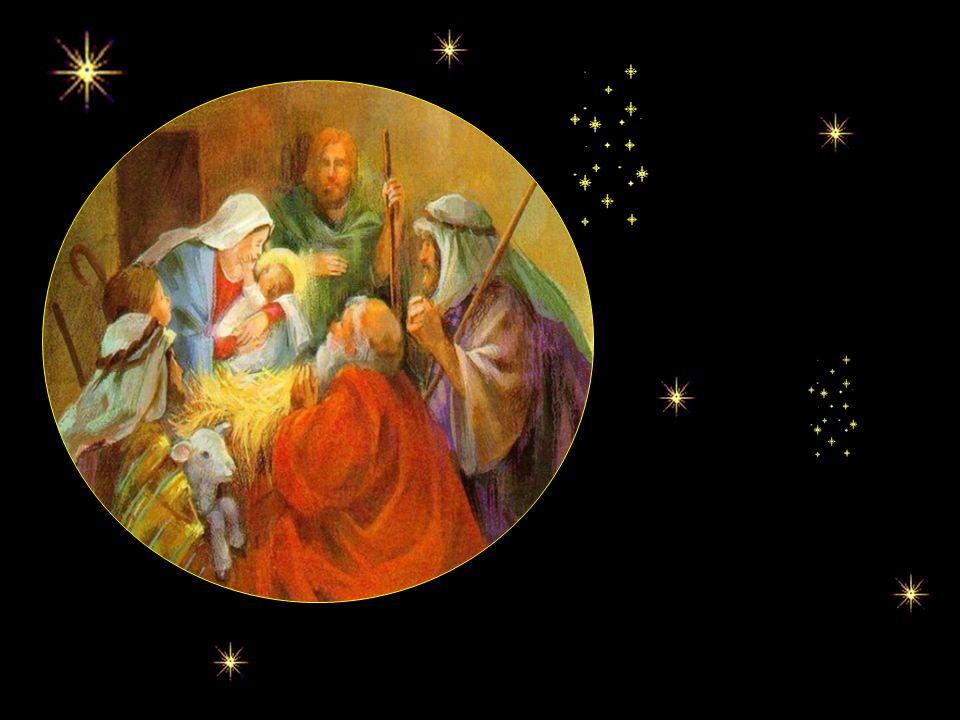 Comme il est beau le petit Enfant-Dieu, je ne peux le voir sans lui donner mon coeur. Félicitations, Marie et Joseph, jamais je nai vu un autre Enfant
