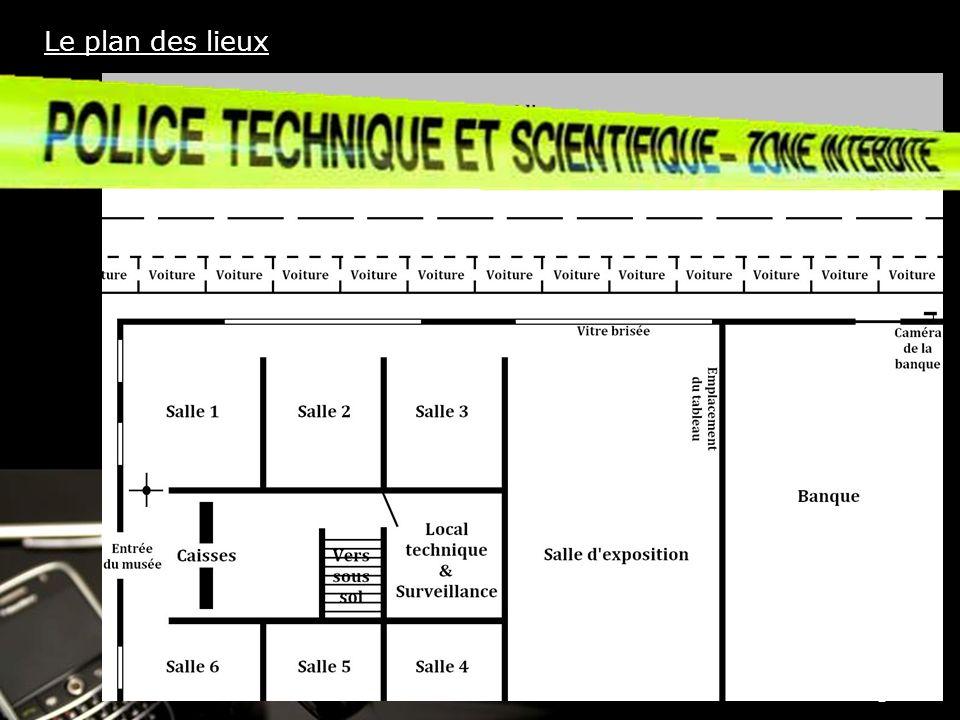 Powerpoint Templates Page 5 Le plan des lieux