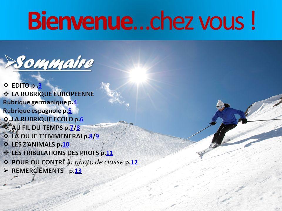 INFOS SEMINAIRE Toute lactu du Séminaire Seminews LE JOURNAL DU SEMINAIRE COLLEGE SAINTE-MARIE MARS 2013 N°4 JEUX & LOISIRS Détendez-vous ! Les « Zani