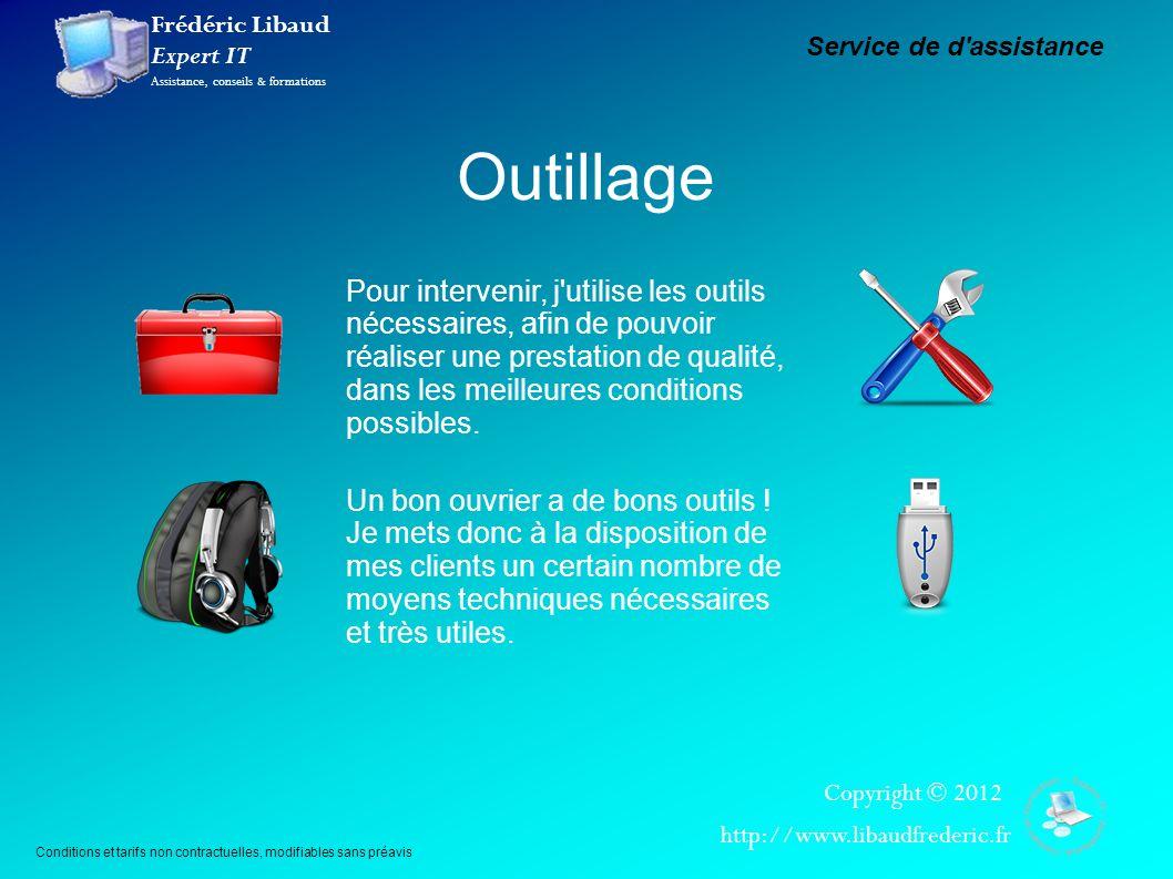 Frédéric Libaud Expert IT Assistance, conseils & formations Copyright © 2012 http://www.libaudfrederic.fr Comment ça fonctionne .