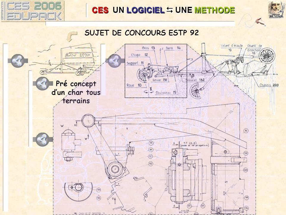 SUJET DE CONCOURS ESTP 92 Pré concept dun char tous terrains …