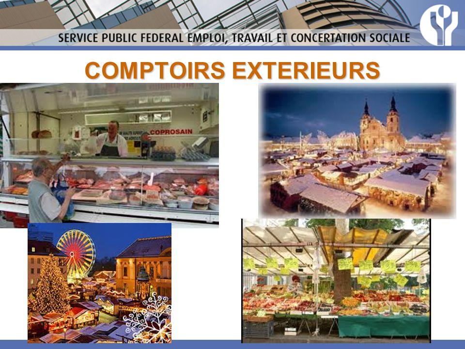 COMPTOIRS EXTERIEURS