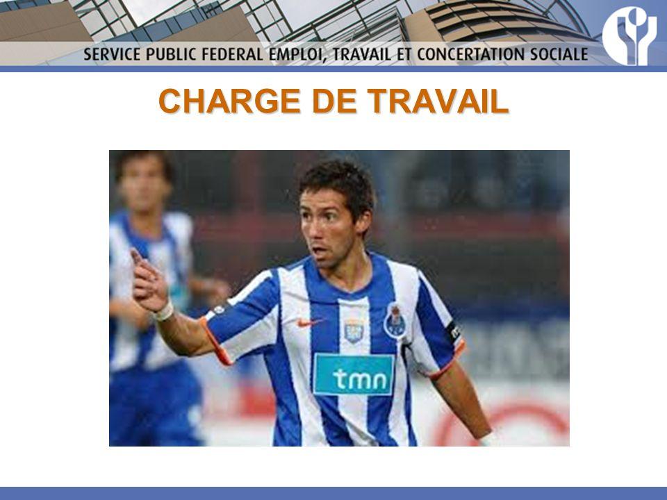 CHARGE DE TRAVAIL