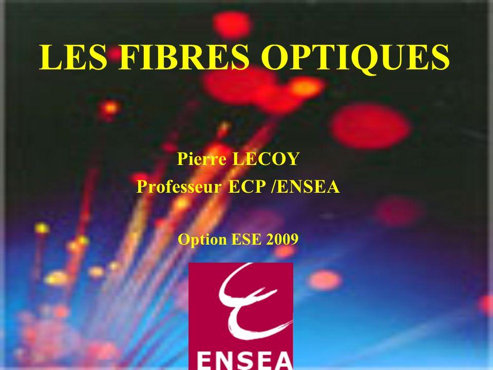 LES FIBRES OPTIQUES Pierre LECOY Professeur ECP /ENSEA Option ESE 2009