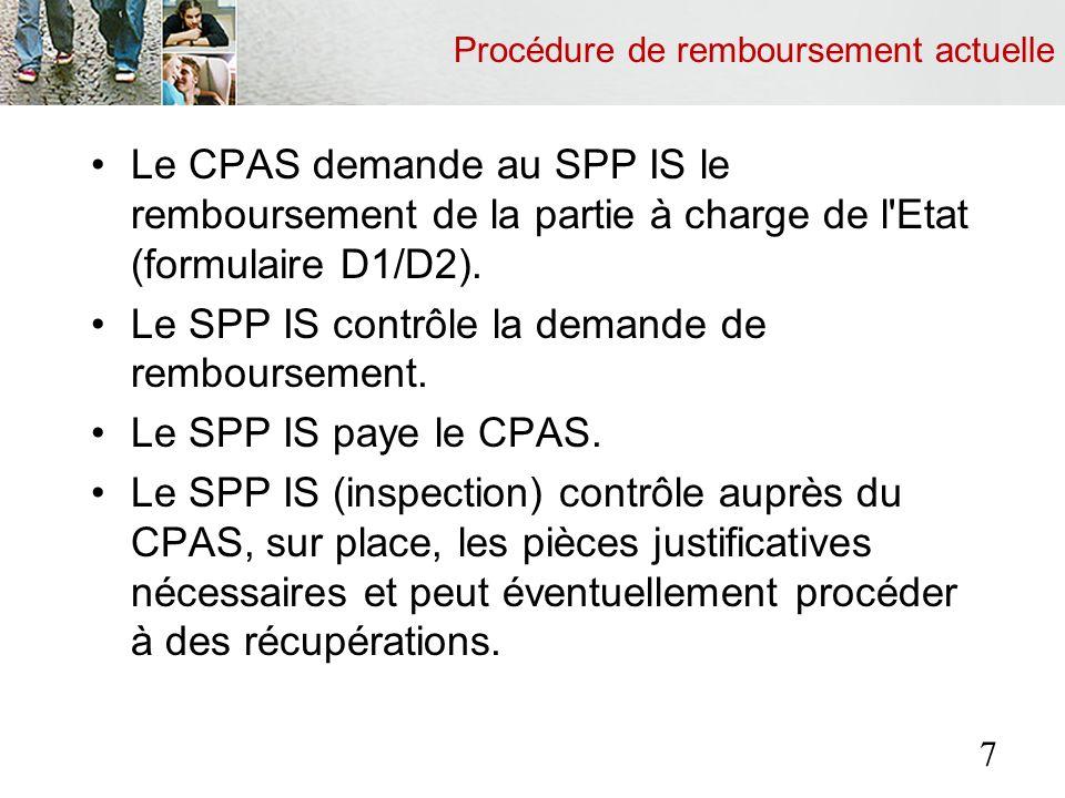 Développement en phases Phase 3 : le traitement de toutes les factures pour lesquelles le CPAS intervient, ainsi que le contrôle – sur demande du CPAS – des factures de tous les prestataires de soins pour toutes les personnes couvertes par une carte médicale électronique.