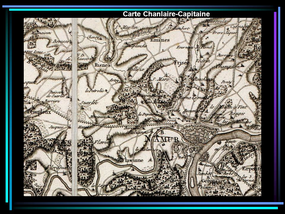 Carte Chanlaire-Capitaine