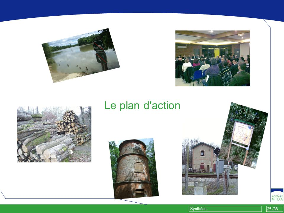 25 /38 Synthèse Le plan d'action