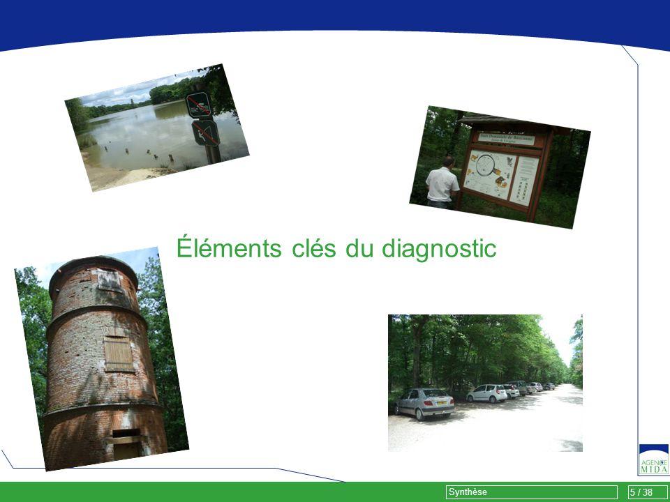 5 / 38 Synthèse Éléments clés du diagnostic