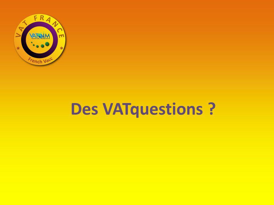 Des VATquestions ?