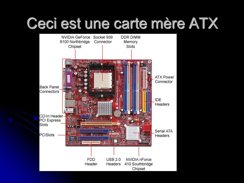 Ceci est une carte mère ATX