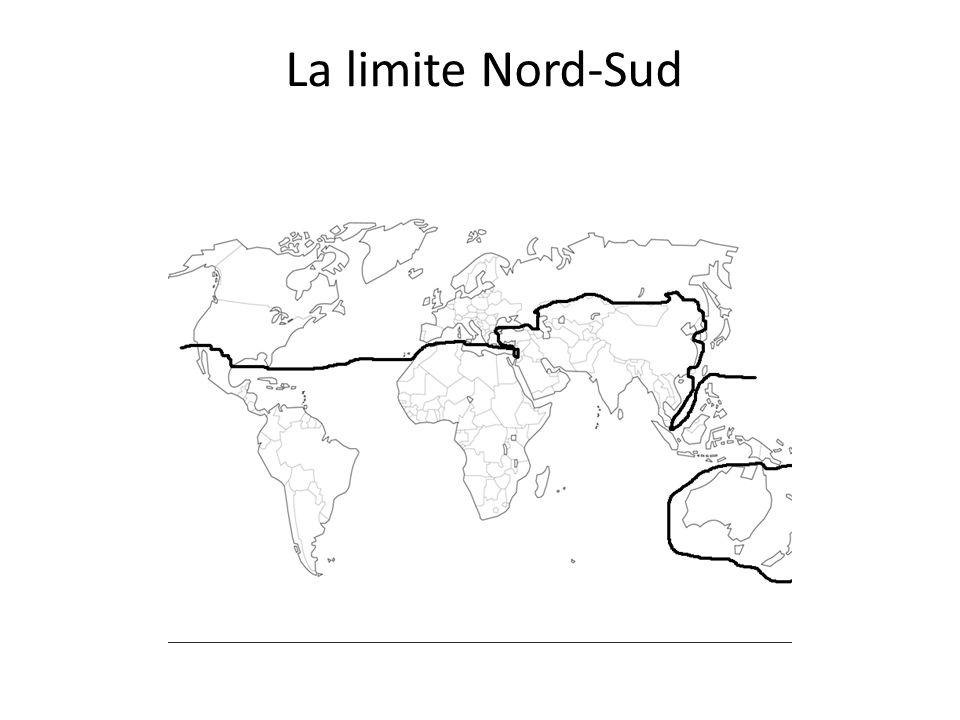 La limite Nord-Sud