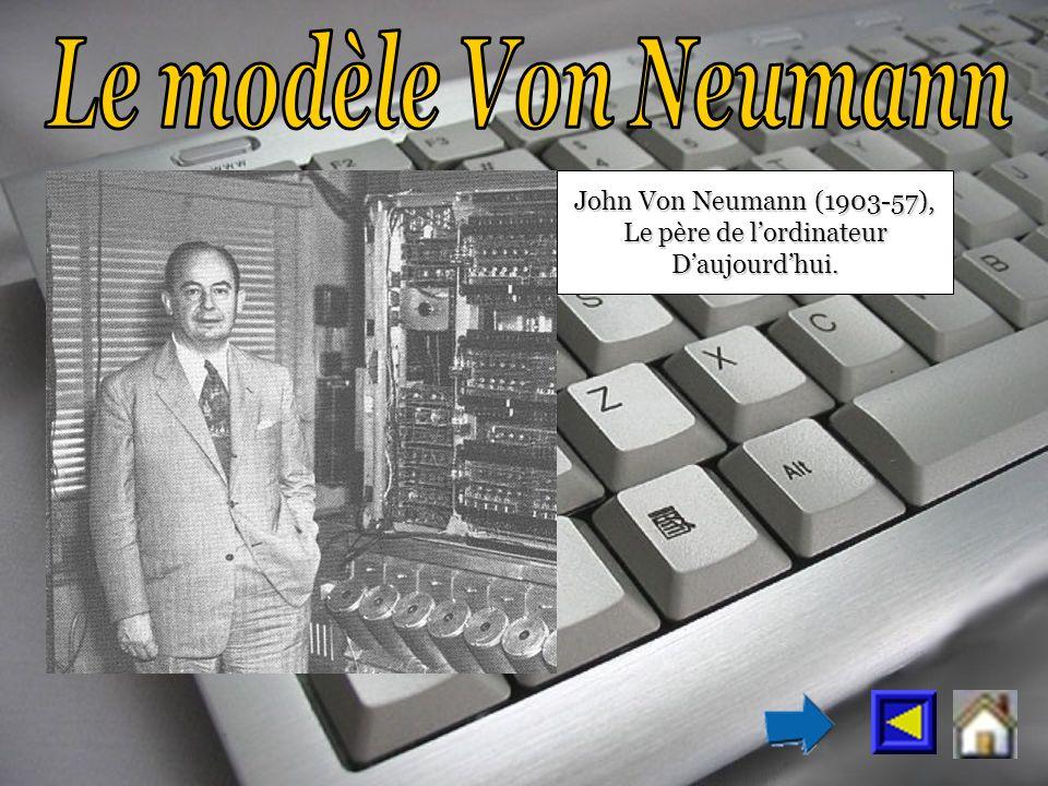 John Von Neumann (1903-57), Le père de lordinateur Daujourdhui.