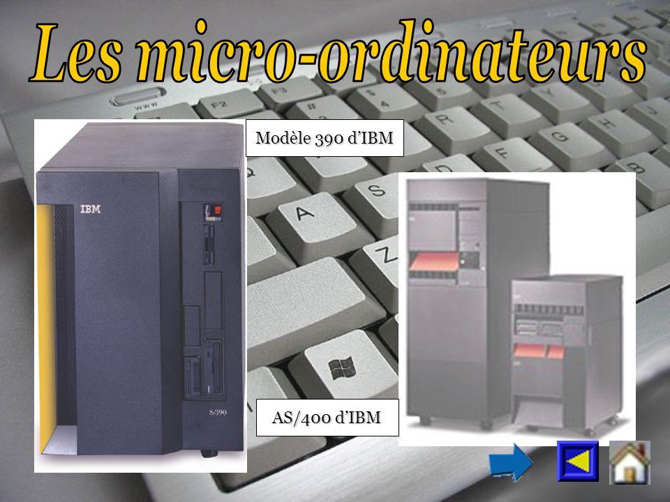 Modèle 390 dIBM AS/400 dIBM
