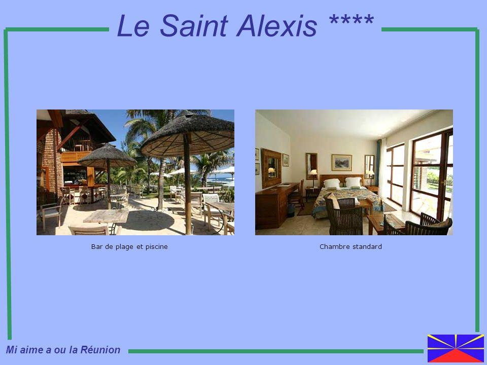 Le Saint Alexis **** Bar de plage et piscineChambre standard Mi aime a ou la Réunion