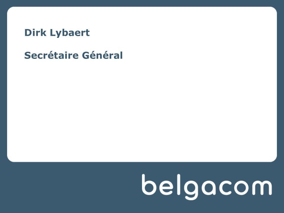 Dirk Lybaert Secrétaire Général