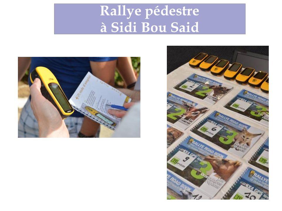 Rallye Road Book au Cap Bon Rallye pédestre à Sidi Bou Said