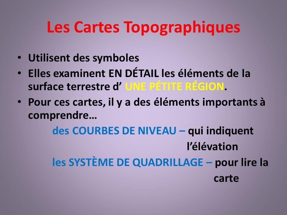 Les Cartes Topographiques Plus dinfo à suivre sur les cartes topographiques