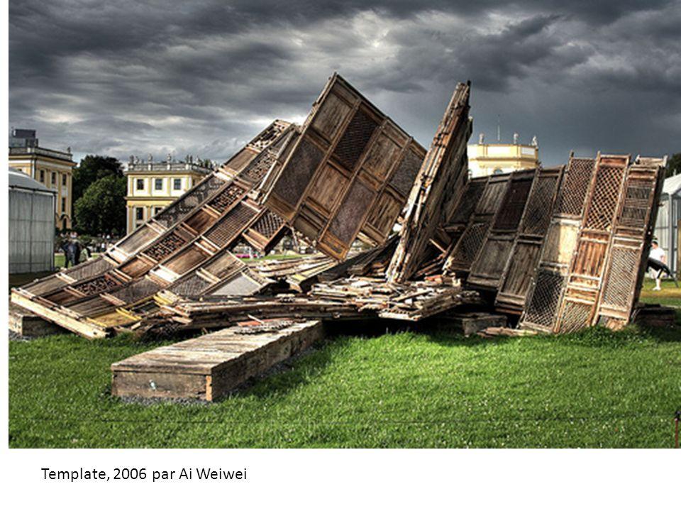 Template, 2006 par Ai Weiwei