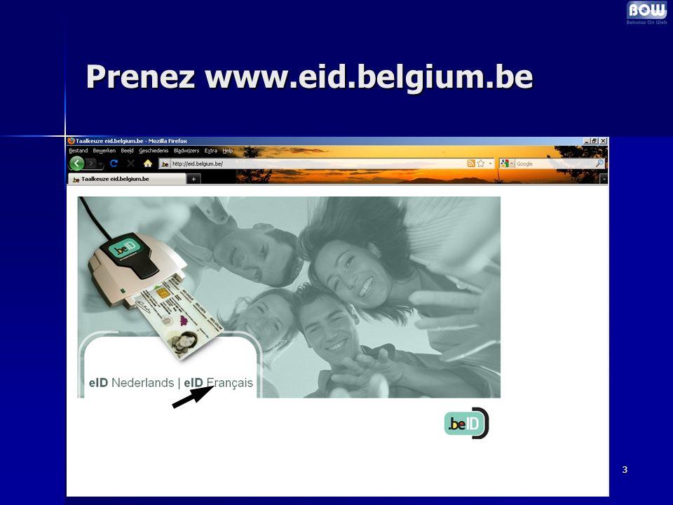 3 Prenez www.eid.belgium.be