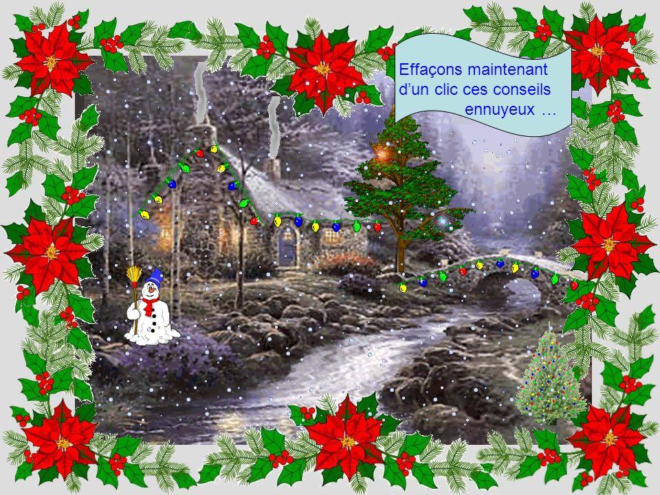 Que serait un Noël sans neige ? Cliquez donc ici pour arranger cela …