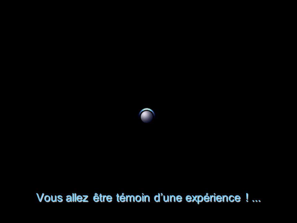 Une expérience de Xénon