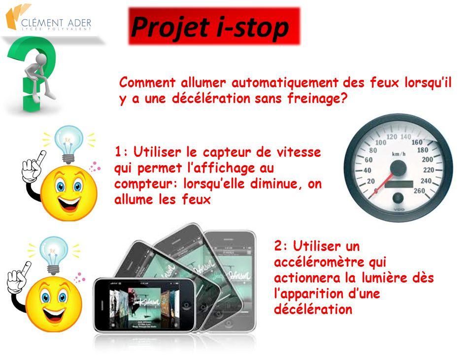 Prototypage Projet i-stop