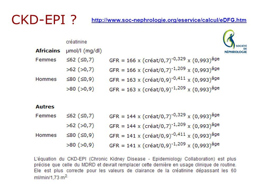 CKD-EPI ? http://www.soc-nephrologie.org/eservice/calcul/eDFG.htm