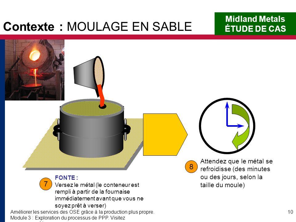 Améliorer les services des OSE grâce à la production plus propre. Module 3 : Exploration du processus de PPP. Visitez www.encapafrica.org. 10 7 8 Midl