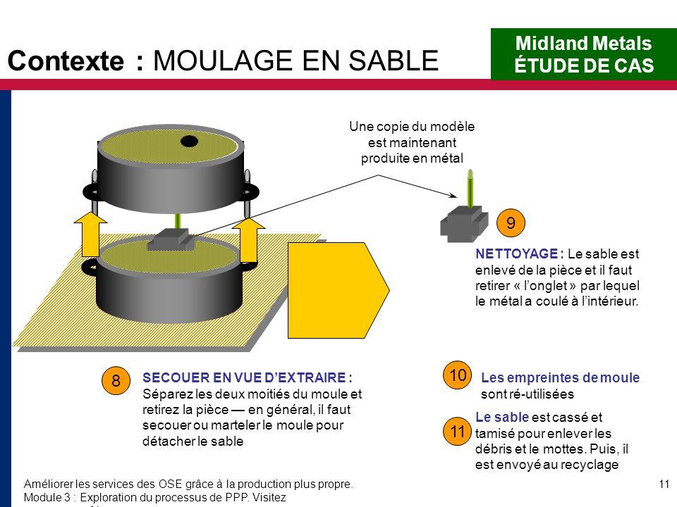 Améliorer les services des OSE grâce à la production plus propre. Module 3 : Exploration du processus de PPP. Visitez www.encapafrica.org. 11 8 9 10 1