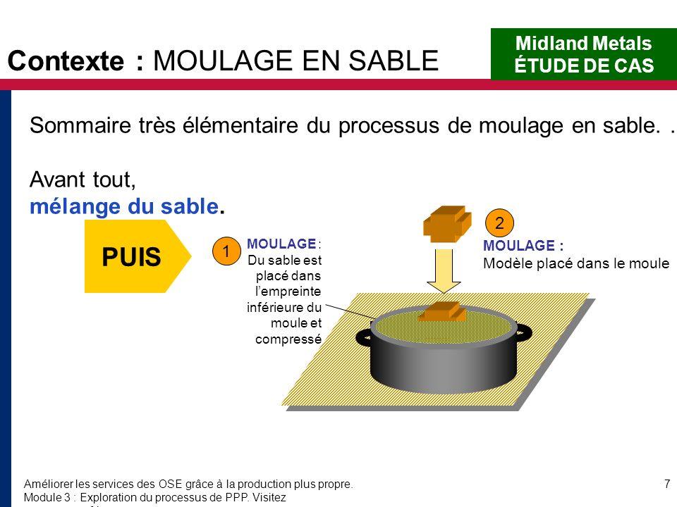 Améliorer les services des OSE grâce à la production plus propre. Module 3 : Exploration du processus de PPP. Visitez www.encapafrica.org. 7 Sommaire