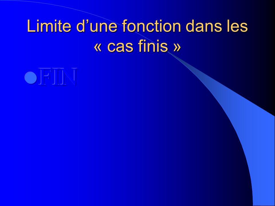Limite dune fonction dans les « cas finis » Et T=]a-n a+n[ V=]b-e b+e[ Donc f(T) est inclus dans V