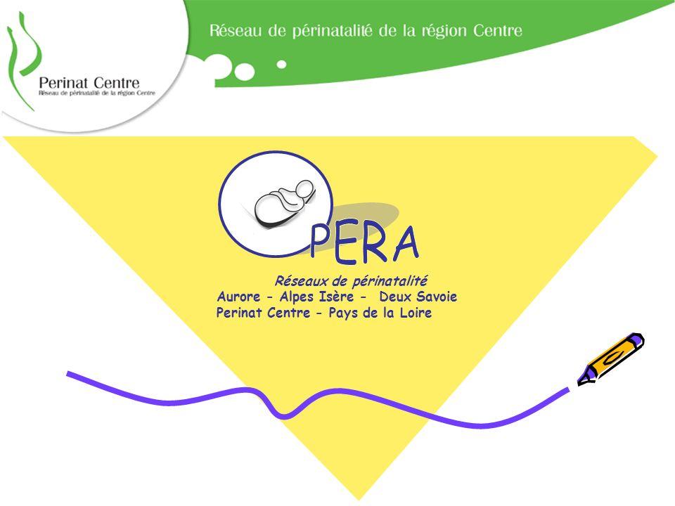Etude OPERA Réseaux de périnatalité Aurore - Alpes Isère - Deux Savoie Perinat Centre - Pays de la Loire
