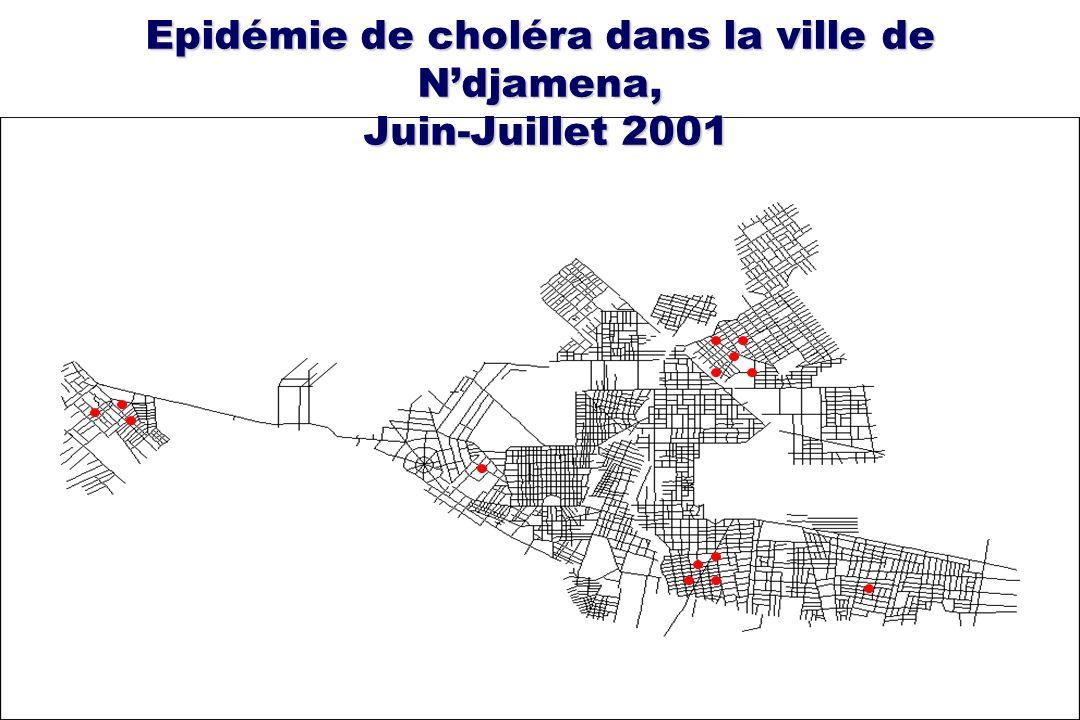 Epidémie de choléra dans la ville de Ndjamena, Juin-Juillet 2001