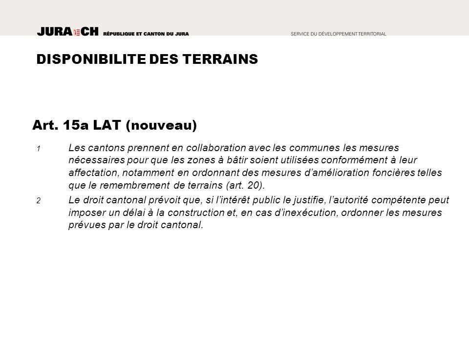 II METTRE EN PLACE UN REGIME DE COMPENSATION (ART. 5 LAT)