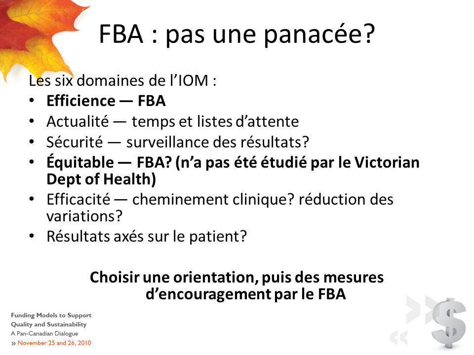FBA : pas une panacée.