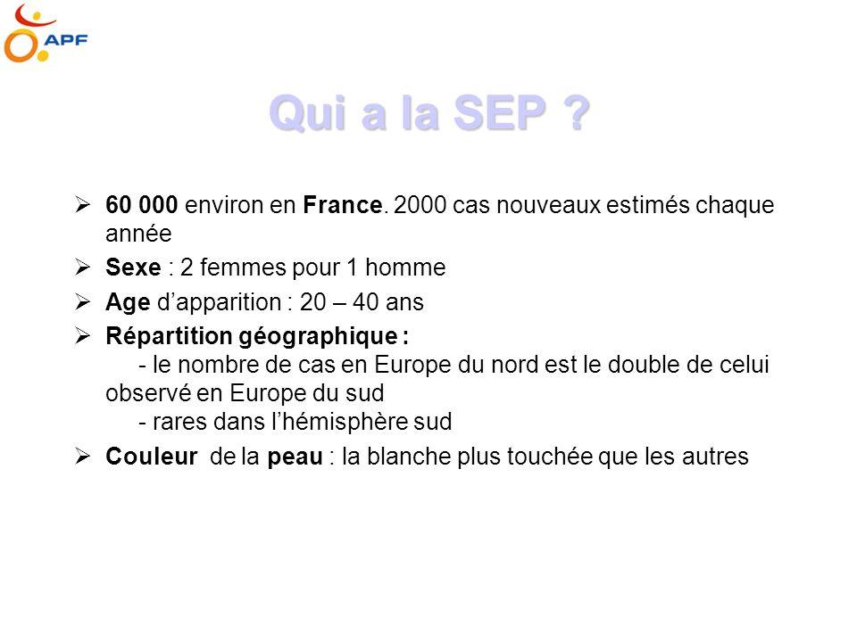 Qui a la SEP .60 000 environ en France.