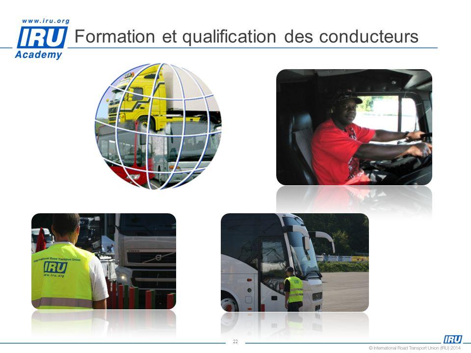 22 Formation et qualification des conducteurs