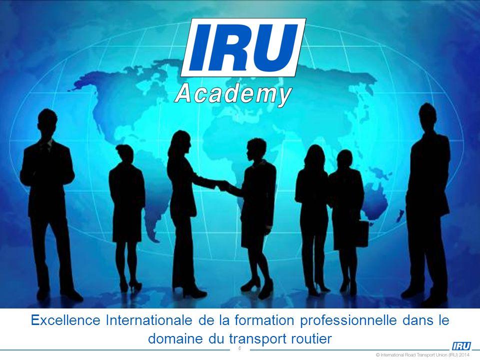6 Excellence Internationale de la formation professionnelle dans le domaine du transport routier
