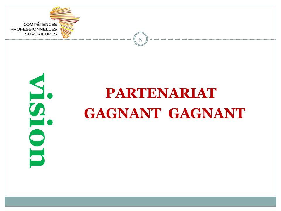 5 vision PARTENARIAT GAGNANT GAGNANT