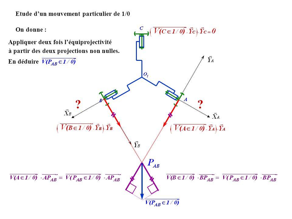 Etude dun mouvement particulier de 1/0 ?.