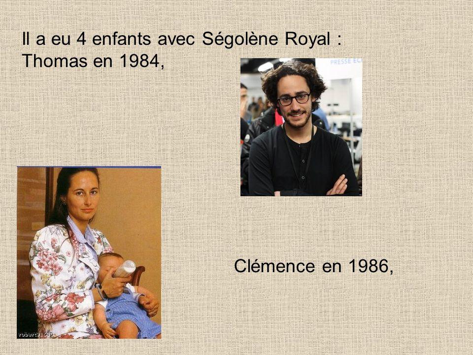 Notre Président ne sest donc pas marié avec Ségolène Royal et pourtant...