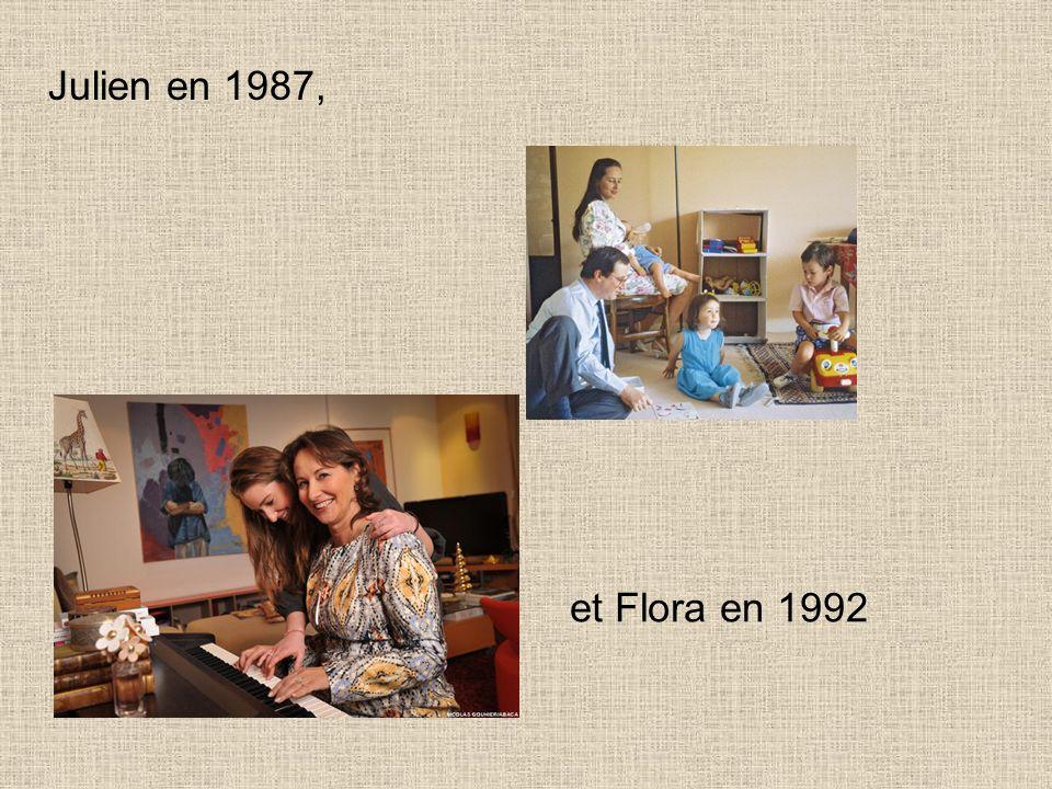 Il a eu 4 enfants avec Ségolène Royal : Thomas en 1984, Clémence en 1986,