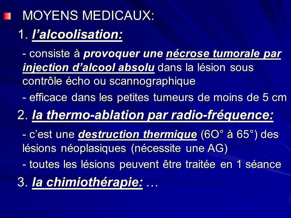 MOYENS MEDICAUX: 1.
