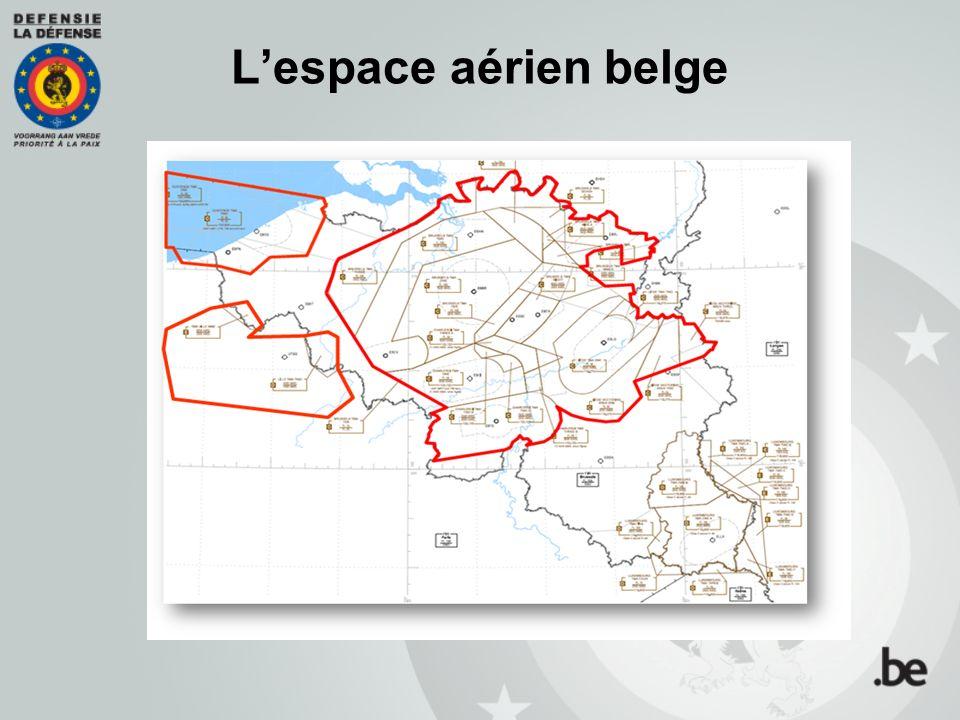 Lespace aérien belge